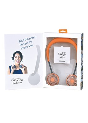 Time Concept TC Wearable Fan Orange