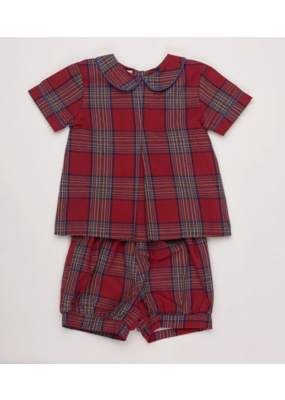 Oaks Apparel Company Oaks Apparel Co. Maddox Red Madewell Short Set