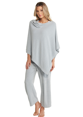 Barefoot Dreams Barefoot Dreams Cozychic Ultra Lite Poncho Blue Water
