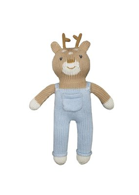 "Zubel Zubel Boy Deer 12"" Rattle"