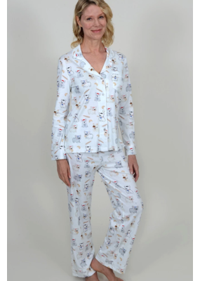 Cotn Cotn Pardon My Frenchie Print PJ