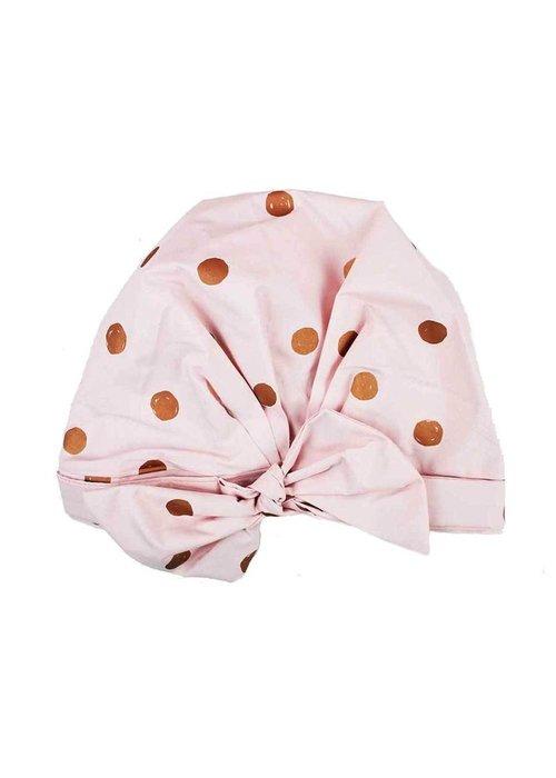 Kit Sch /kit.sch/ Luxe Shower Cap Blush Dot