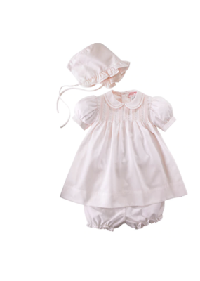 Petit Ami Petit Ami Dress With Bloomer and Hat
