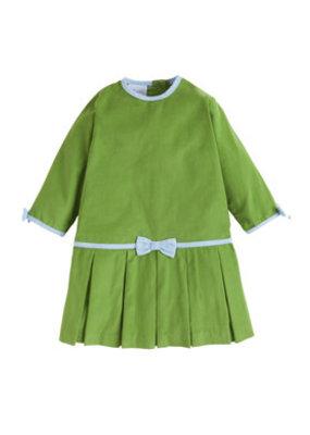 Little English Little English Samantha Dress  Sage Green Corduroy
