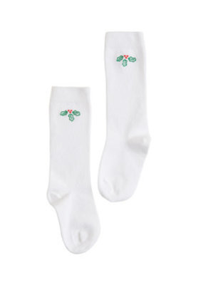 Little English Little English Holly Knee High Socks