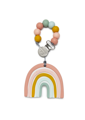 Lou Lou Lollipop LouLou Lollipop Pastel Rainbow Teether Set