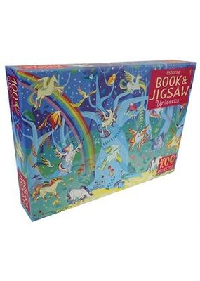 Usbourne Book & Jigsaw: Unicorns