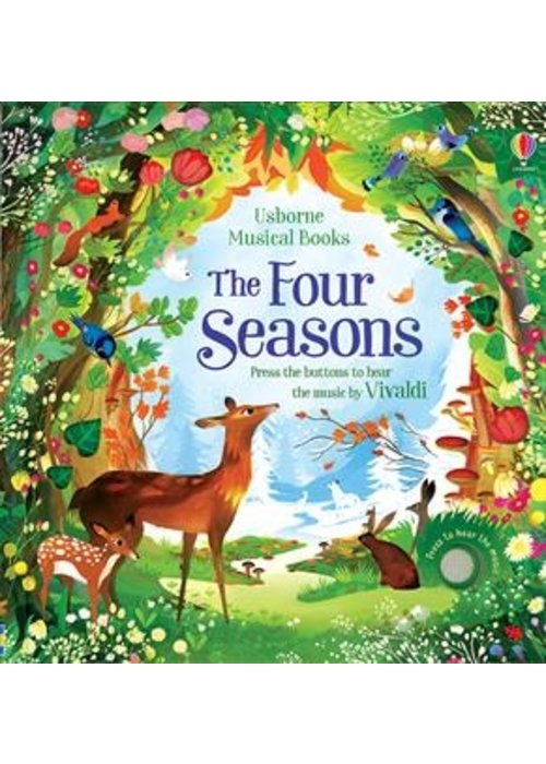 Usborne The Four Seasons Musical Book