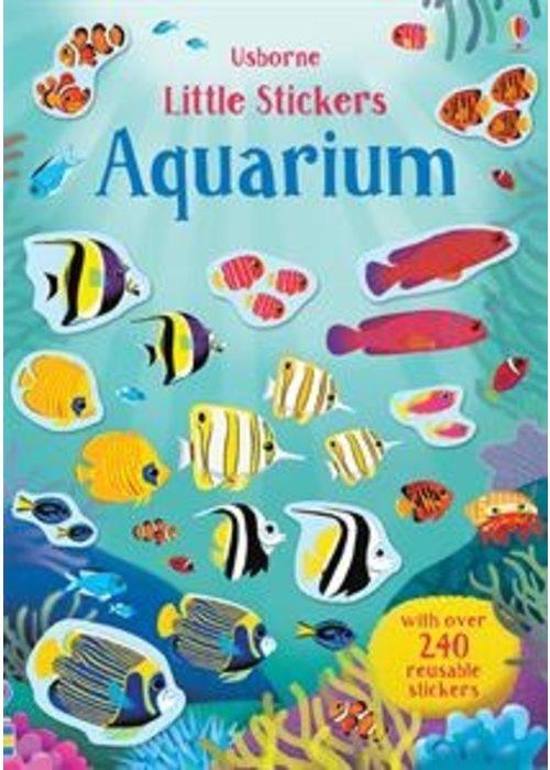 Usborne Little Stickers Aquarium