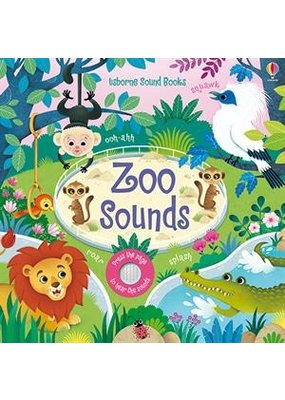 Usbourne Zoo Sounds Book