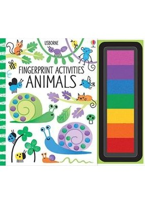 Usbourne Fingerprint Activities Animals