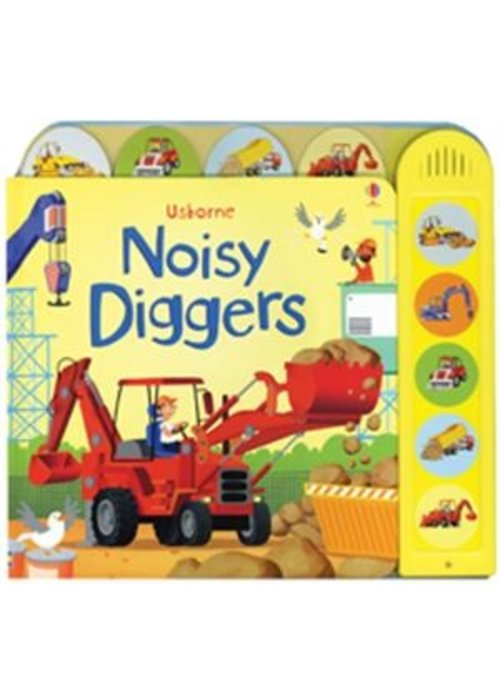 Usborne Noisy Diggers Book