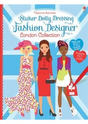Usborne Sticker Dolly Dressing London Collection
