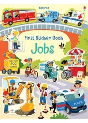 Usborne First Sticker Book Jobs
