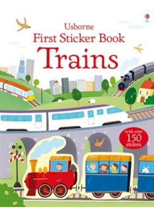 Usborne First Sticker Book Trains