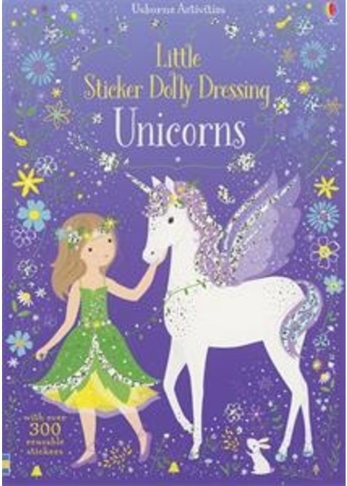 Usborne Little Sticker Dolly Dressing Unicorns