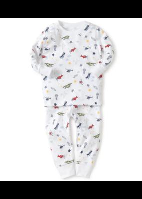 Kissy Kissy KissyKissy Aviator Year Round Print Pajamas