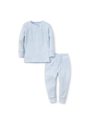 Kissy Kissy KissyKissy Stripe Year Round Pajamas Blue