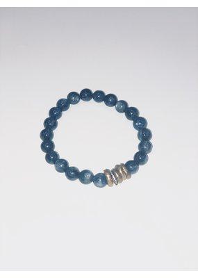 Mickey Lynn kyanite stretch bracelet