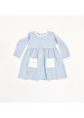 Squiggles Squiggles by Charlie Blue and White Stripe Dress