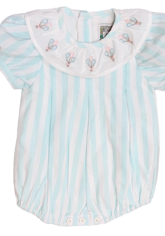 Christian Elizabeth Commander's Bubble Aqua/White