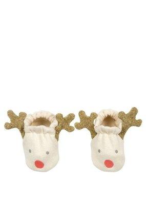 Meri Meri Meri Meri Baby Booties Reindeer