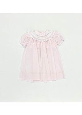 Petit Ami Petit Ami Pink Dress with Bloomer