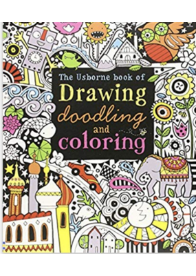 Usborne Drawing, Doodling and Coloring