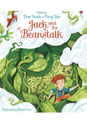 Usborne Usborne Peep inside Jack and the beanstalk book