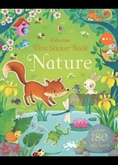 Usborne Usborne First Sticker Book - Nature
