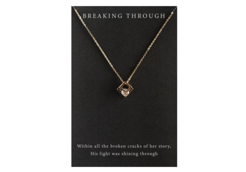 Dear Heart Designs DearHeart Designs Breaking Through Necklace