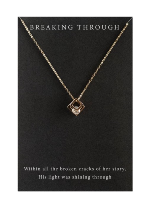 Dear Heart Designs DearHeart Designs Breaking Through Necklace