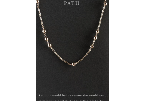 Dear Heart Designs DearHeart Designs Path Necklace