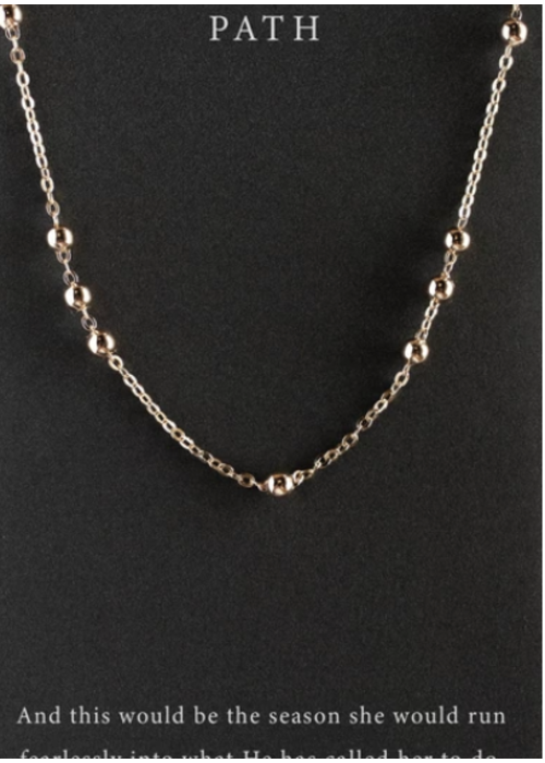Dear Heart Designs DearHeart Designs Path Necklace