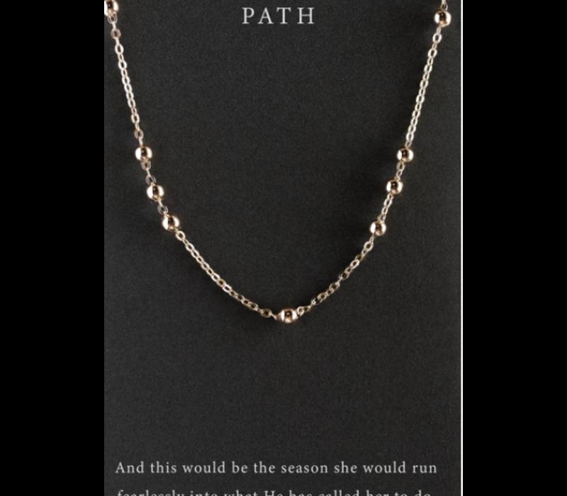 DearHeart Designs Path Necklace