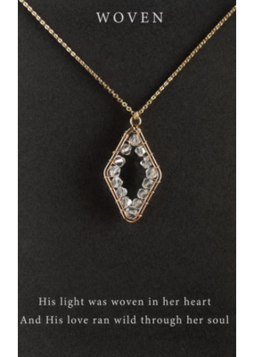 Dear Heart Designs DearHeart Designs Woven Necklace