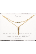 Dear Heart Designs DearHeart Designs Lead Me Layered Necklace