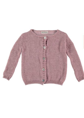 milou&pilou Milou & Pilou Pink Flash Sweater Cardigan