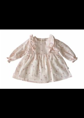 Petit Indi Petit Indi Pink Dandelion Dress