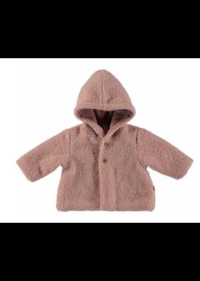 Petit Indi Petit Indi Fuzzy Coat (2 colors)