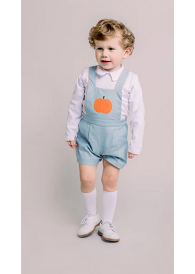 Dondolo Dondolo Witt Overall Set Grey/Orange