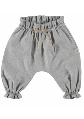 Petit Indi Petit Indi Gray Banded Pants