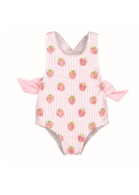 Sal & Pimenta Sal & Pimenta Pink Patch Swimsuit