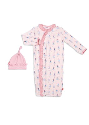 Magnetic Baby Magnetic Baby Prima Ballerina Magnetic Sack Gown Set NB-3M