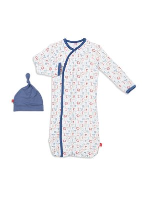 Magnetic Baby Magnetic Baby A Star is Born Magnetic Sack Gown Set NB-3M