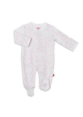Magnetic Baby Magnetic Baby Southampton Floral Magnetic Footie