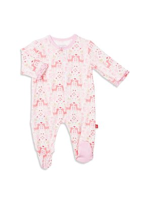 Magnetic Baby Magnetic Baby Flora and Fawna Modal Magnetic Footie