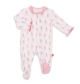 Magnetic Baby Magnetic Baby Prima Ballerina Modal Magnetic Footie