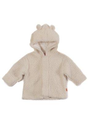 Magnetic Baby Magnetic Baby Magnetic Bears Cream Fleece Hooded Jacket