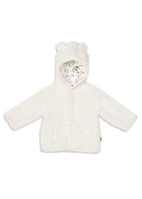 Magnetic Baby Magnetic Baby Egret So Soft Minky Fleece Magnetic Jacket